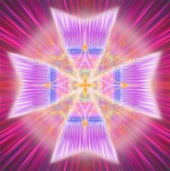 MALTESE CROSS symbol here is the violet flame ray energy of Saint Germain and his legions of cosmic violet fire angels you can visualize and they are instantly with you!